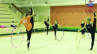 Ritmik Cimnastik Antrenmanı