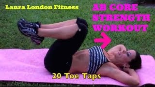 Fitness - Ab Workout for Core Strength Laura London Fitness