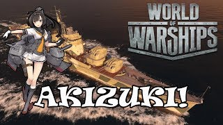 World of Warships - Akizuki!
