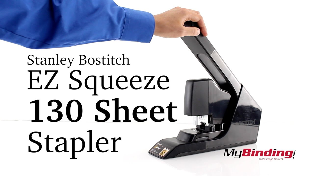Staplers & Punches Office Products Bostitch B8130 EZ Squeeze 130 ...