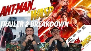 QUANTUM REALM, AVENGERS 4 TIE-IN, GHOST & GOLIATH? ANTMAN & THE WASP TRAILER 2 BREAKDOWN!