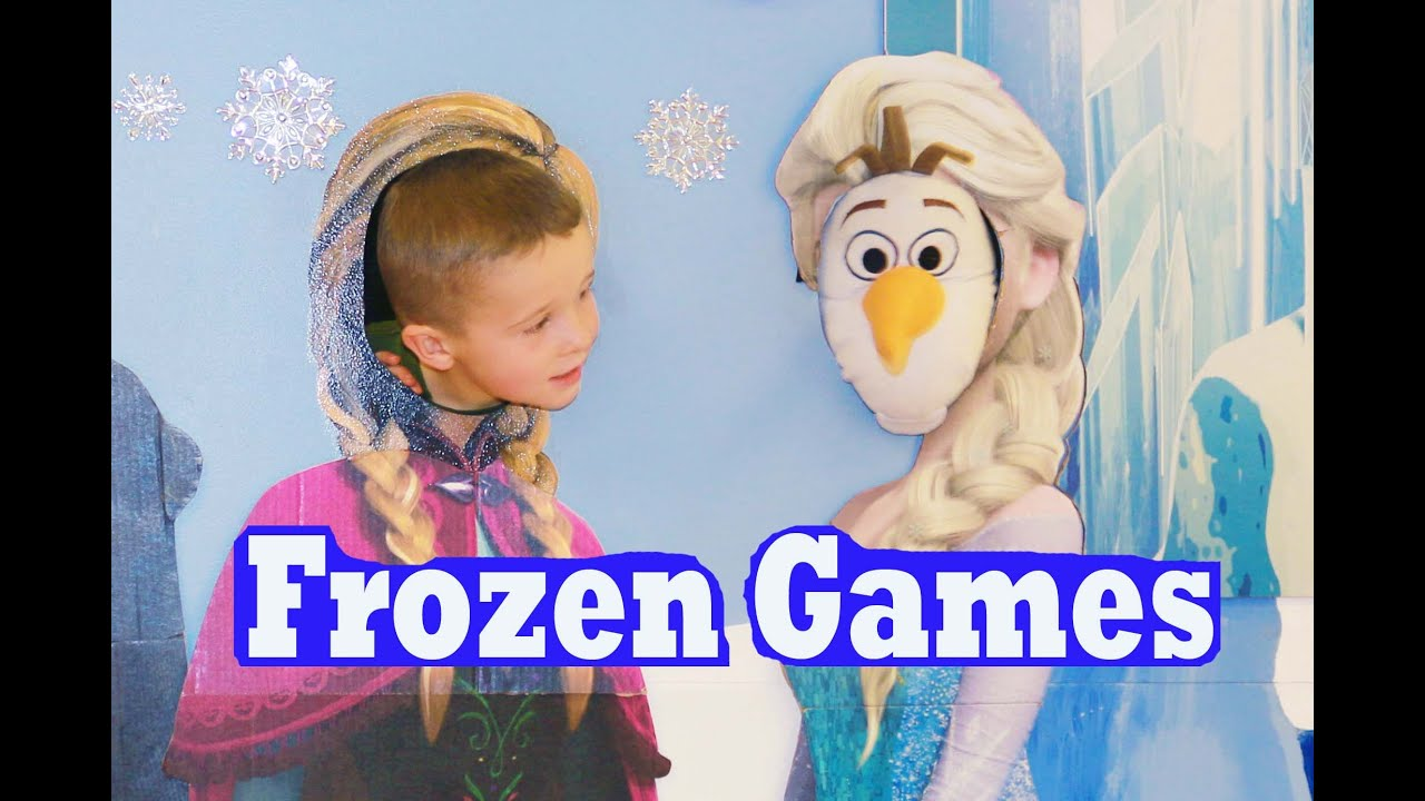 FROZEN GAMES RIDES Disney BIRTHDAY PARTY IDEAS