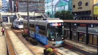 【HD】長崎電気軌道3000形 3003F 長崎駅発車