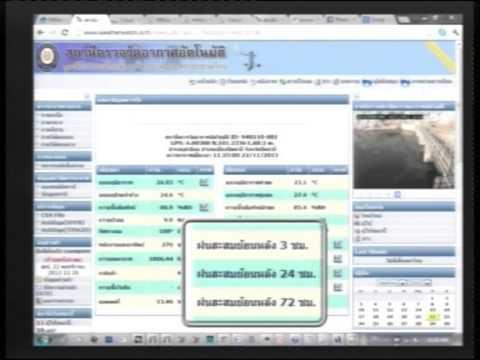 พยากรณ์อากาศภาคใต้ (สำนักวิทยบริการ & PBWatch) 22-11-56