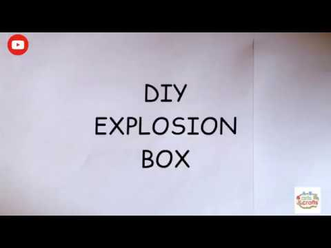 DIY EXPLOSION BOX | easy tutorial |...