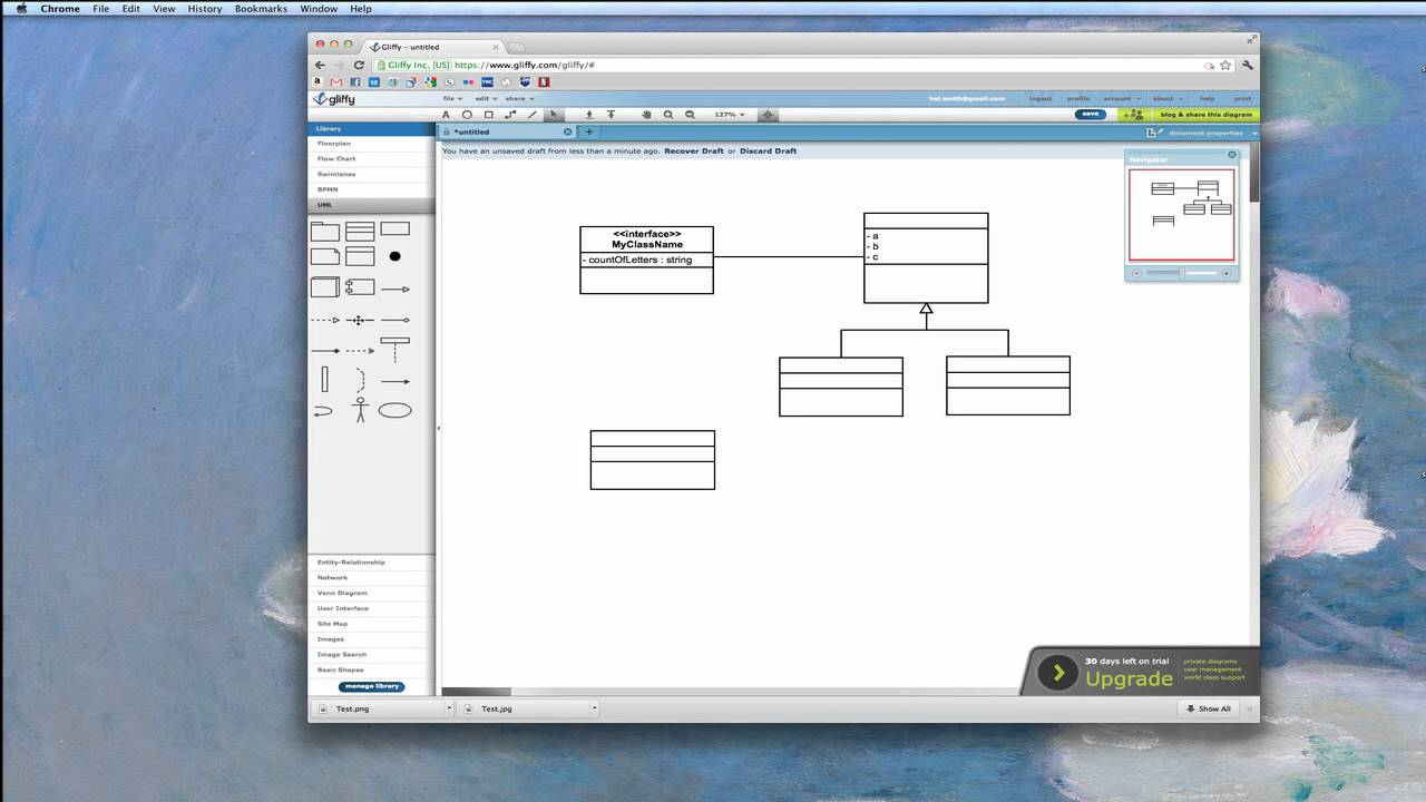 Uml diagrams with gliffy youtube ccuart Gallery
