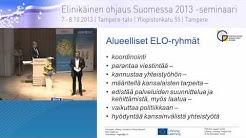 Miten eurooppalainen elinikäisen ohjauksen yhteistyö tukee kansallista alueellista toimintaa