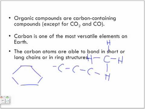 Introducing Organic Compounds Lecture