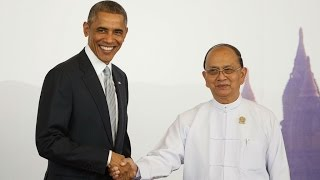 Obama tells Burmese leaders reforms going backwards - EAST ASIA SUMMIT