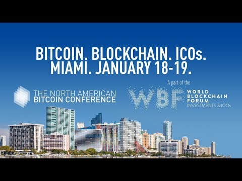 LIVE from North American Bitcoin Conference 2019