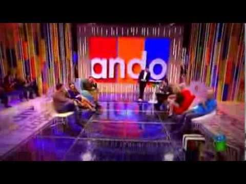 Paco León a Frank Blanco en Zapeando: zas... en toda la boca