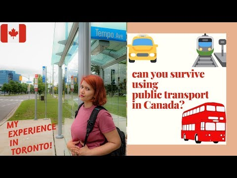 Can You Survive Using Public Transport In Canada? By Jake And Demi
