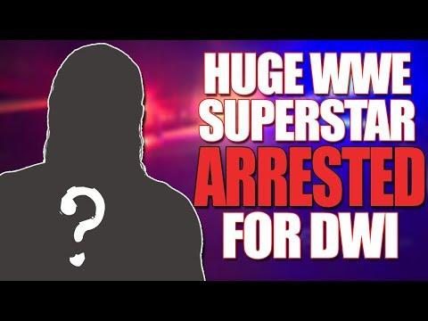 Huge Current WWE Superstar Arrested For DWI