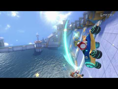 Hacker in Mario Kart 8 GameXplain Tournament (Read Discription)
