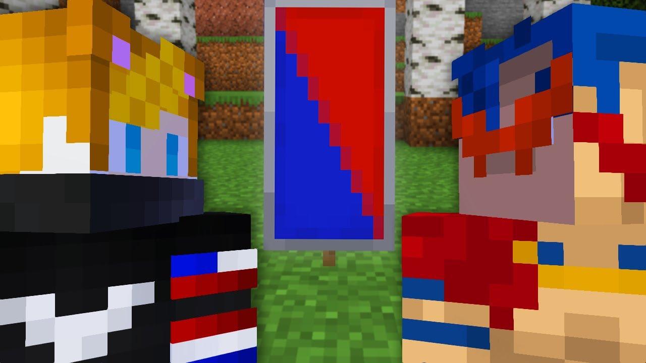 Minecraft Captura la Bandera