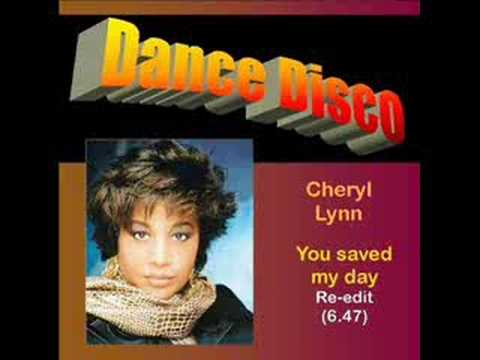 Cheryl Lynn: You saved my day (Re-edit 6.47)