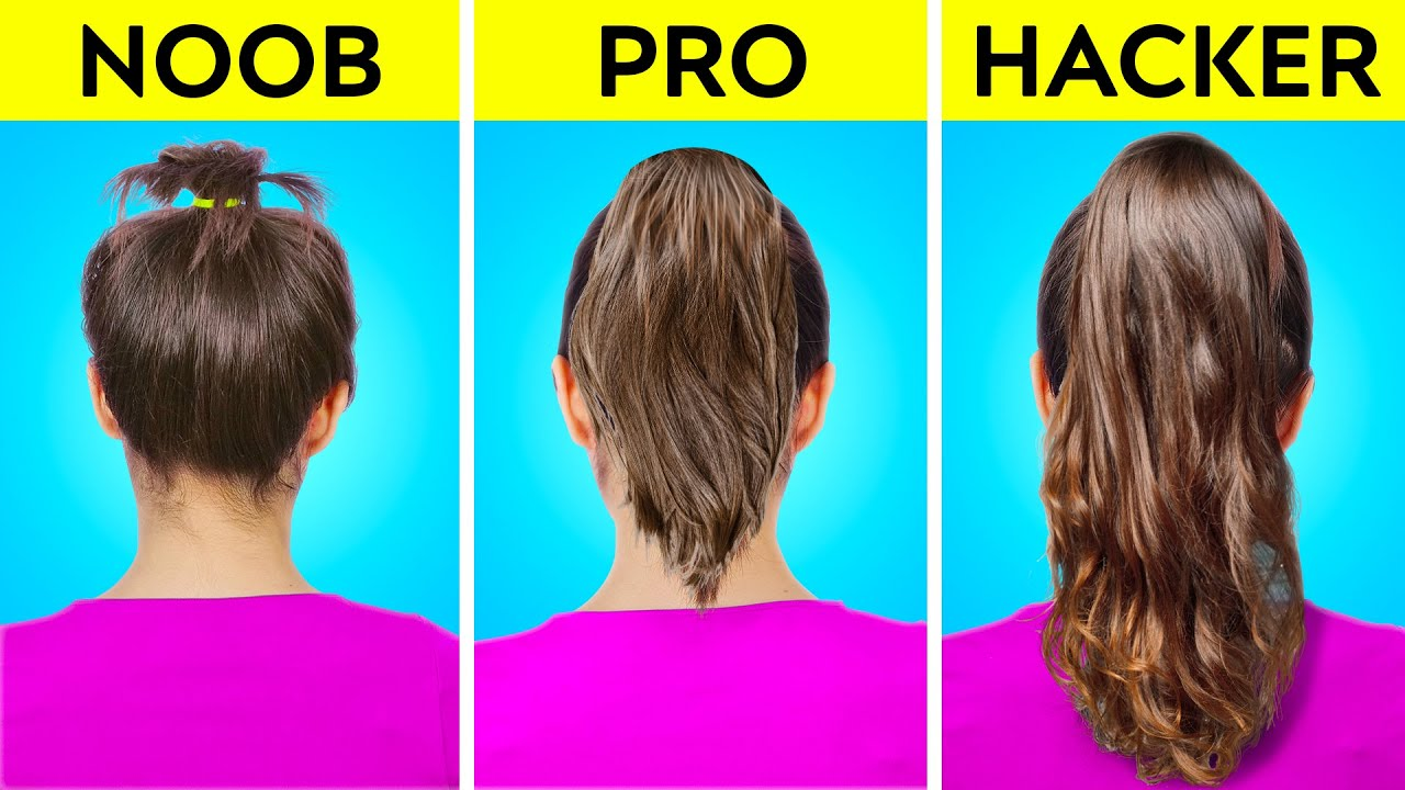 SHORT VS LONG HAIR PROBLEMS AND HACKS TO OVERCOME FAILS || Funny Situations And Tips By 123 GO! GOLD