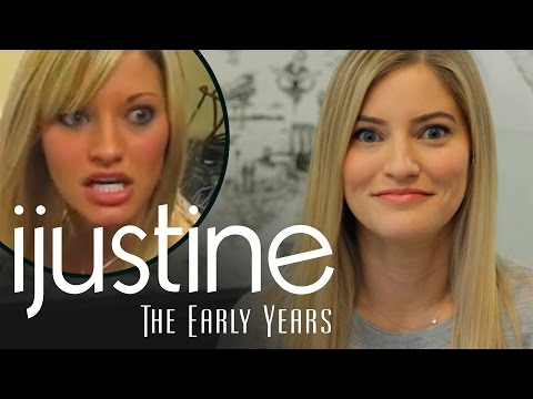 iJustine watches her first YouTube video from 2006