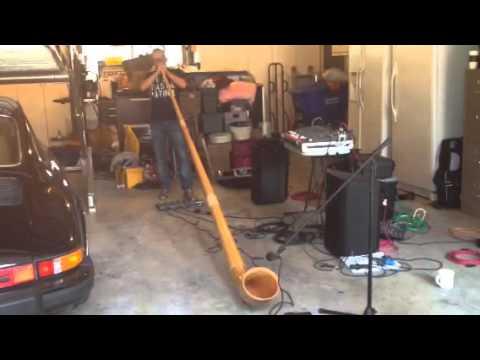 Sound Check at Tony ´s garage