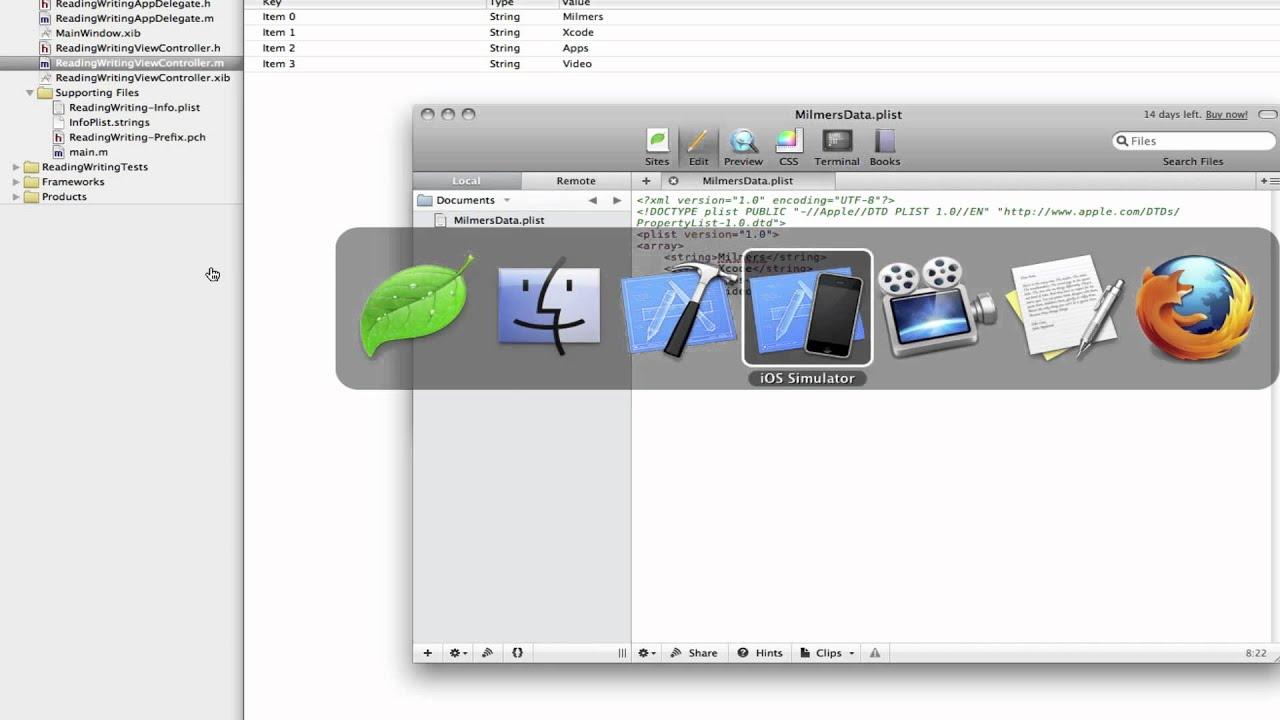 iPhone Programming: Finding & editing & downloading plist files