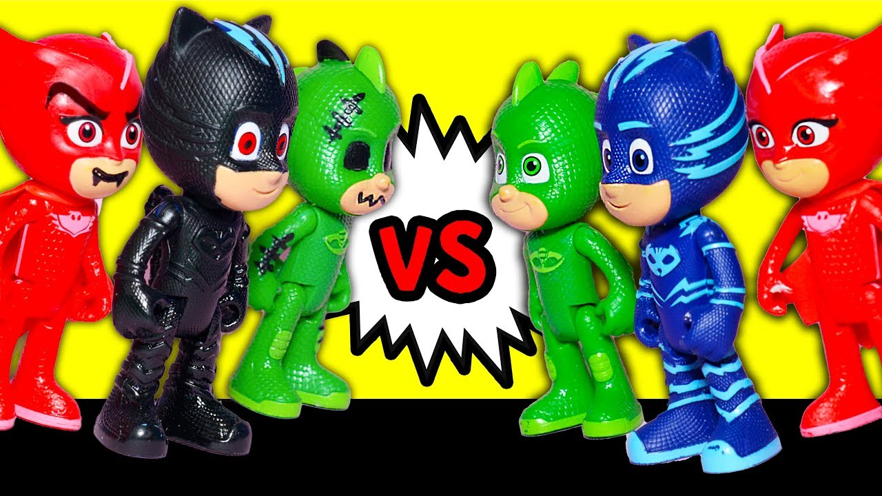 PJ Masks has a contest with the Spooky PJ Masks with Trolls #1