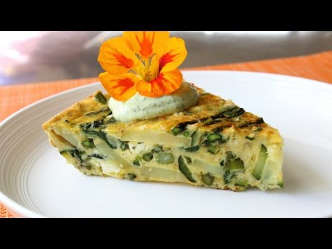 Spring Vegetable Frittata Recipe How to Make a Baked Frittata