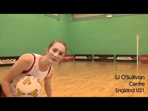 Ultimate trick shot- England Netball stars- Be the Team 2011