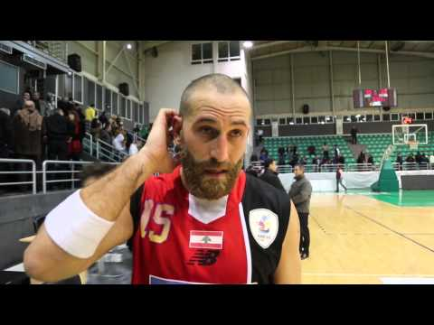 Interview with Captain Fady Khatib after the game against Tadamon