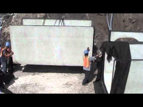 Precast Double 6x6Box Culvert Installation