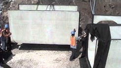 Precast Double 6x6Box Culvert Installation