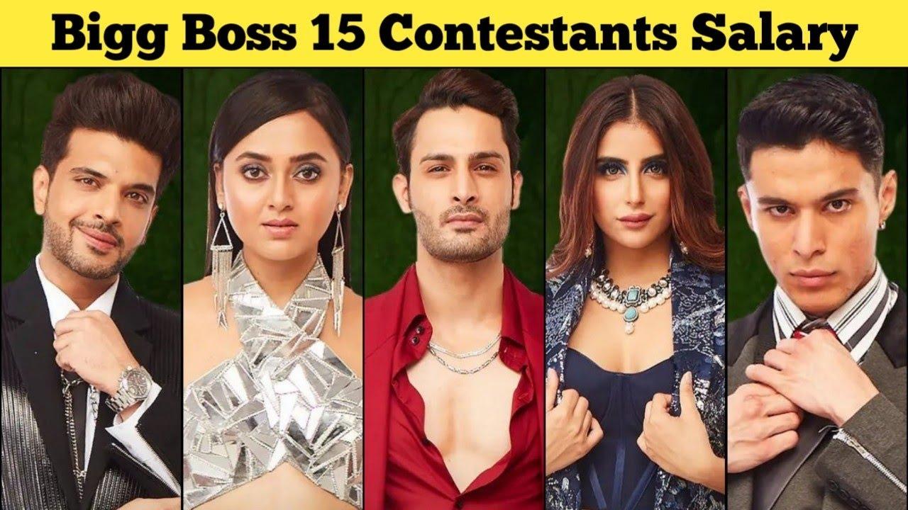 Download Shocking Salary of Bigg Boss 15 Contestants | Bigg Boss Season 15 Contestants Salary | BB 15