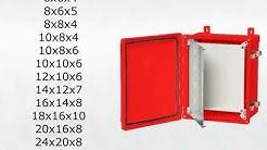 ARCA RED Non-Metallic Polycarbonate Enclosure