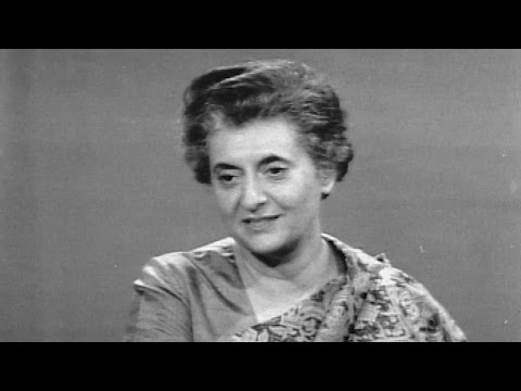 Indira Gandhi elected as Prime Minister of India - January 24, 1966