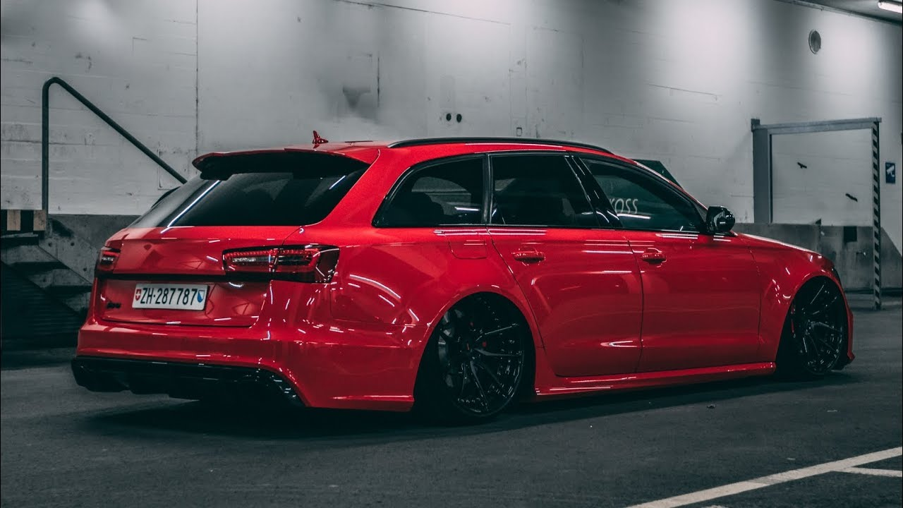 The Red Devil Adrian S Bagged Audi Rs6 4k Youtube