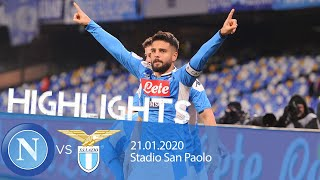 Highlights Coppa Italia - Napoli vs Lazio 1-0