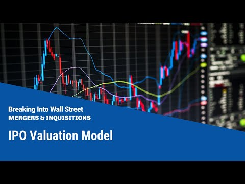 valuation model used in ipo The valuation of ipos by investment banks and the stock market: empirical evidence  we find that for each ipo several valuation methods are used,.