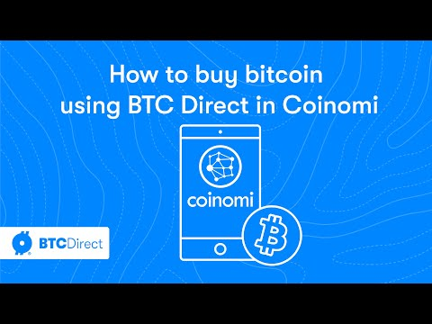 Tutorial: How To Buy Bitcoin Using BTC Direct In The Coinomi Wallet