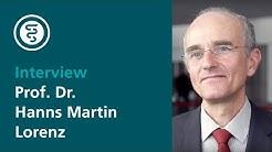 Prof.  Dr. med. Hanns Martin Lorenz, DGRh 2017: Rheuma - Remission als realistisches Szenario
