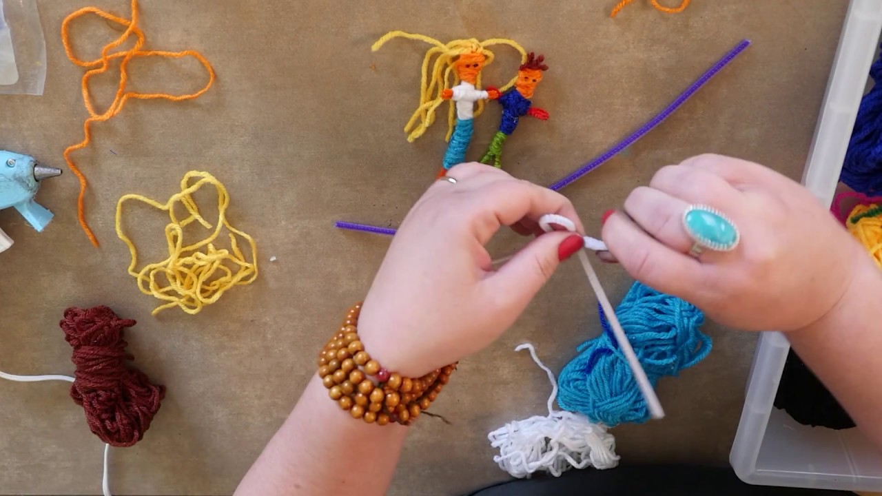 How To Make Guatemalan Worry Dolls Youtube