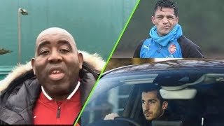 Alexis Sanchez & Mkhitaryan Say Their Goodbyes! | UFF Daily