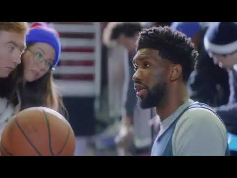 """Joel Embiid has changed his nickname from """"The Process"""" to """"Hulu Has Live Sports"""":"""