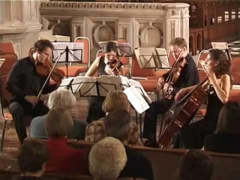 Bartok String Quartet No. 4 - Allegro molto - Carducci String Quartet