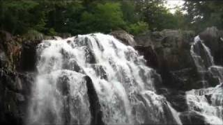 Houston Brook Falls Bingham, ME - Maine waterfall - amazing wa…