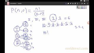 Permütasyon ve kombinasyon formülleri nereden geliyor? Video