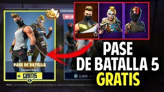 NEW *TIP* (LEGAL) TO GET THE BATTLE PASS 5 FREE AND 3 SKINS!! FORTNITE PS4 XBOX AND PC