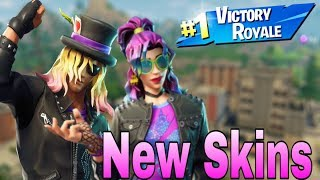 Fortnite - FORTNITE NEW SKINS STAGE SLAYER AND SYNTH STARMD - PS4 LIVE STREAM FORTNITE