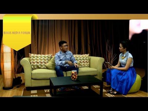 BINUS MEDIA FORUM - Khairan Aldhy - Kemajuan Industri Film di Tangan Generasi Muda