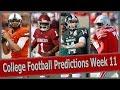 College Football Predictions Week 11