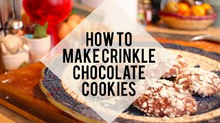 How to make crinkle cookies | Christmas cookie recipe | Big Little World