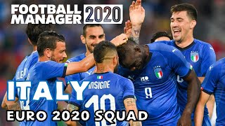 ITALY EURO 2020 SQUAD ACCORDING TO FOOTBALL MANAGER 2020